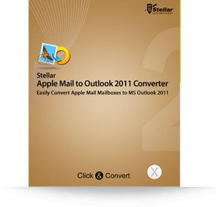 Stellar Apple Mail to Outlook 2011 Converter