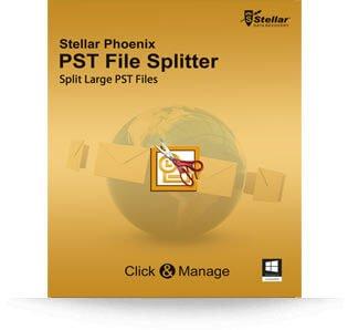 Stellar PST File Splitter software