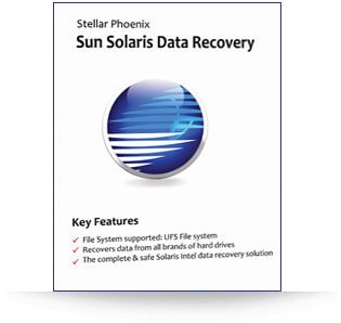 Stellar Sun Solaris Data Recovery software